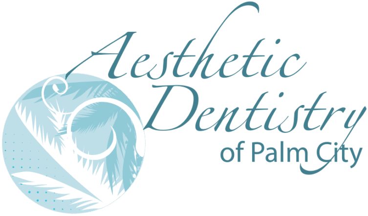 Aesthetic Dentistry of palm city logo