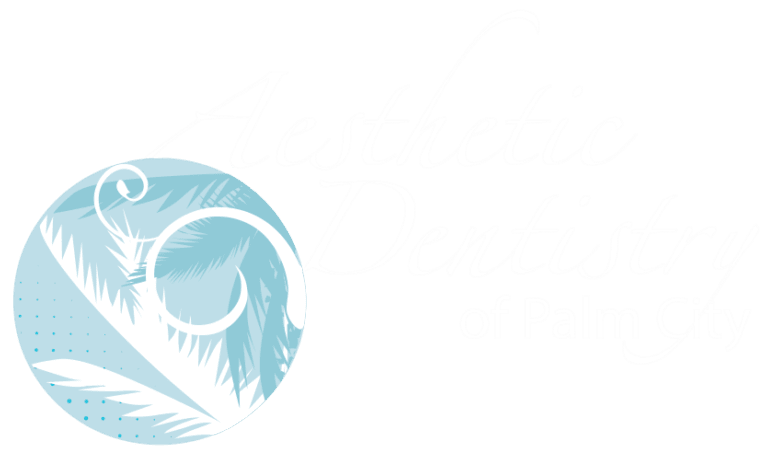 aesthetic dentistry of palm city logo
